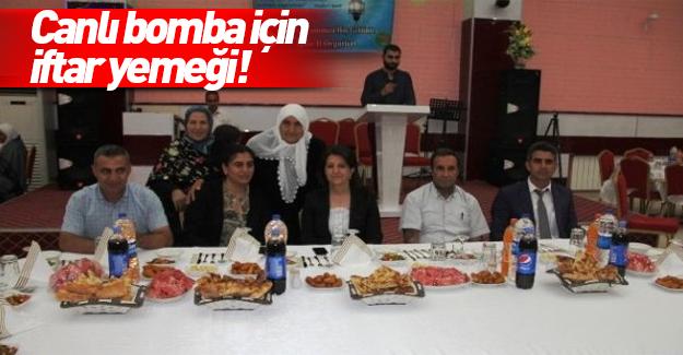 HDP'liler öldürülen PKK'lıların ailelerine iftar verdi