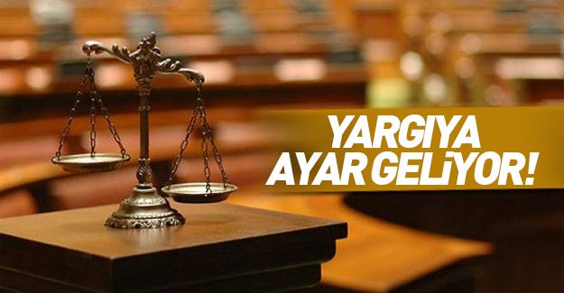 Hükümetten yargıda paralel değişikliği