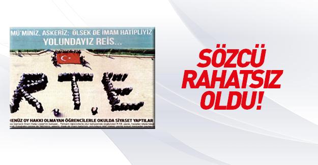 İmam hatiplilerin Erdoğan sevgisi Sözcü'yü rahatsız etti