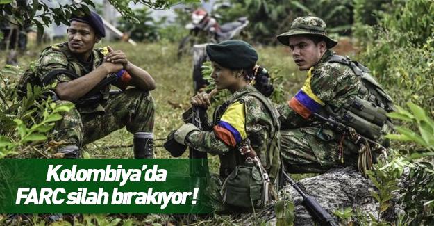 Kolombiyalı örgüt FARC silah bırakma kararı aldı