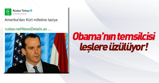 Obama'nın temsilcisinden YPG'liye taziye