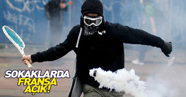 Sokaklarda Fransa Açık!