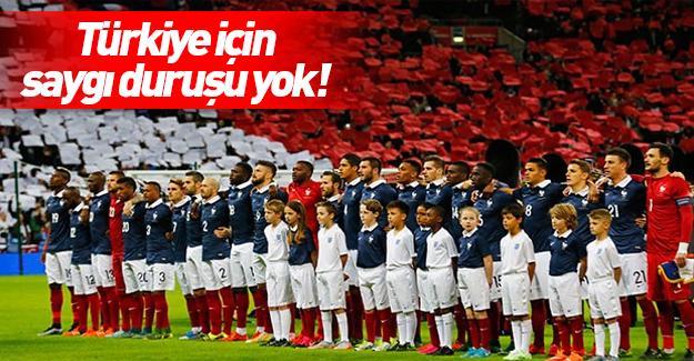 UEFA saygı duruşu yapmayacak
