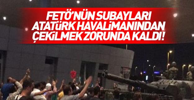 Askerler Atatürk Havalimanı'ndan çekildi