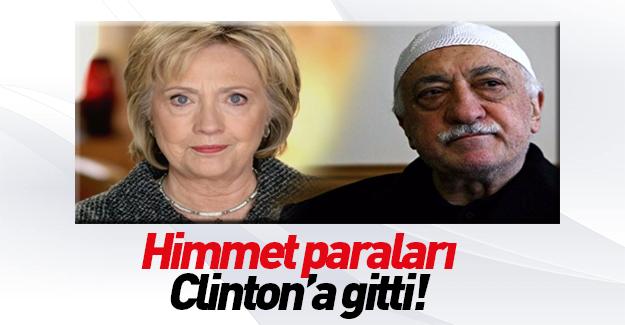 FETÖ Hillary Clinton'a yüklü miktarda 'bağış' yapmış