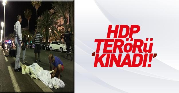 HDP'den Fransa'daki saldırıya kınama