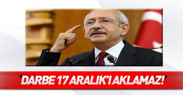Kılıçdaroğlu: 17 Aralık'ın peşini bırakmayız