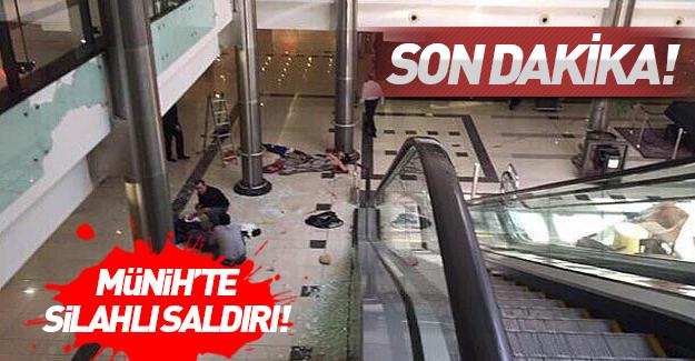 Münih'te AVM'ye silahlı saldırı