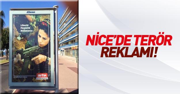 Nice sokaklarında PKK propagandası