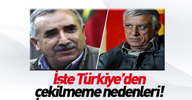 Türkiye'den çekilmemelerinin sebebi buymuş