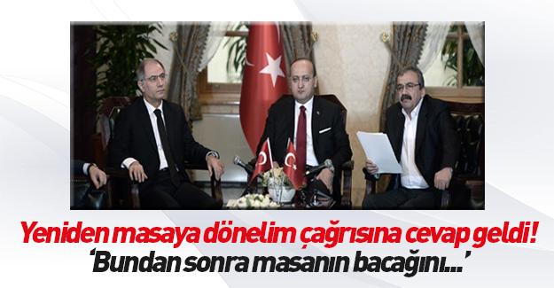 Akdoğan: Bundan sonra masanın bacağını bulursunuz