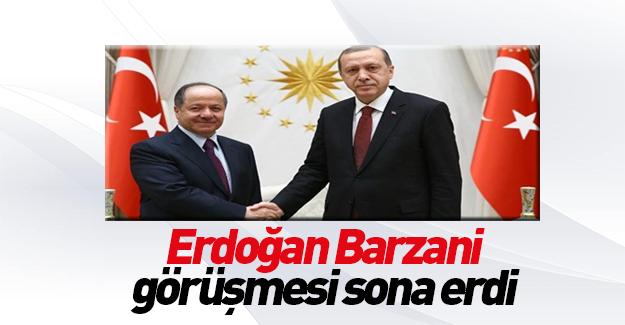 Cumhurbaşkanı Erdoğan ve Barzani terörle mücadeleyi görüştü.