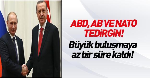 Erdoğan bugün Putin ile bir araya geliyor