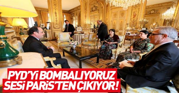 Hollande Türkiye'nin PYD'yi bombalamasından rahatsız