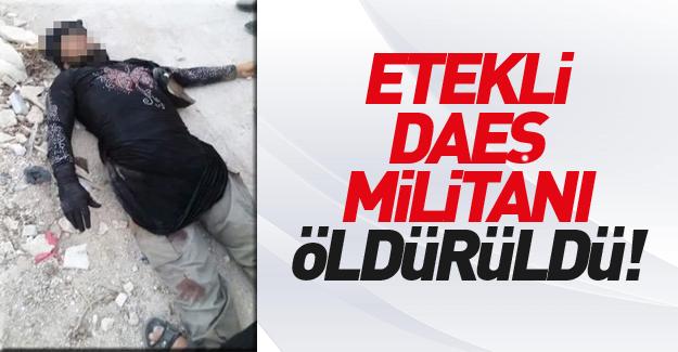 Kadın kılığındaki IŞİD'li Türkiye'ye geçecekti, öldürüldü