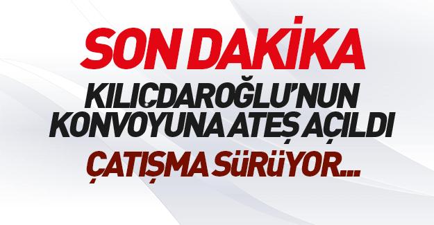 Kılıçdaroğlu'nun konvoyuna ateş açıldı mı?