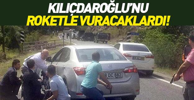 Kılıçdaroğlu'nun konvoyuna roket atılmak istendi mi?
