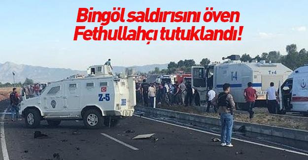 PKK'nın Bingöl saldırısını öven kişi tutuklandı