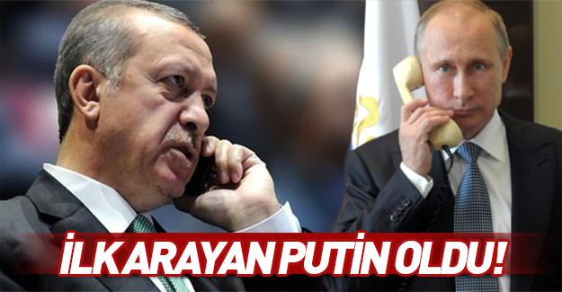 Putin Erdoğan'ı arayıp, taziyelerini iletti