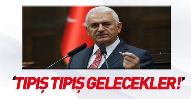 Başbakan'dan HDP'ye sert cevap: Tıpış tıpış geleceksiniz!