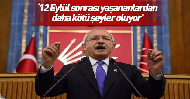 Kılıçdaroğlu'nun 12 Eylül-FETÖ karşılaştırması