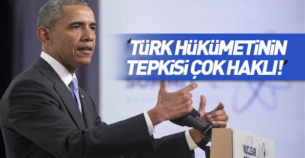 Obama'dan 15 Temmuz darbe girişimi açıklaması