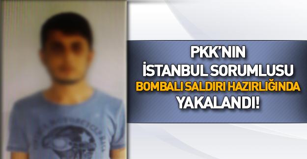PKK'nın sözde İstanbul sorumlusu yakalandı