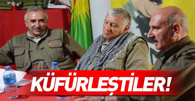 PKK'nın üst düzey yöneticileri birbirine girdi