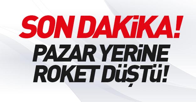 SON DAKİKA: Kilis'e roket atıldı: Yaralılar var!
