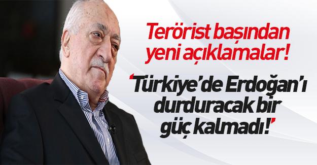 Teröristbaşı Gülen: Pişman değilim!
