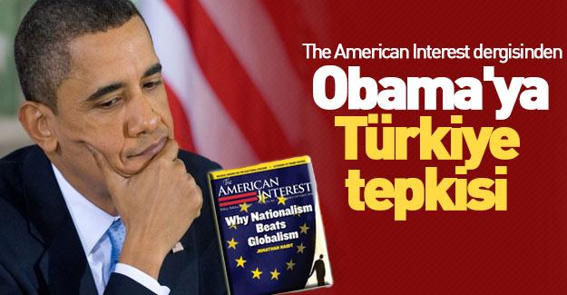 American dergisinden Obama'ya Türkiye tepkisi