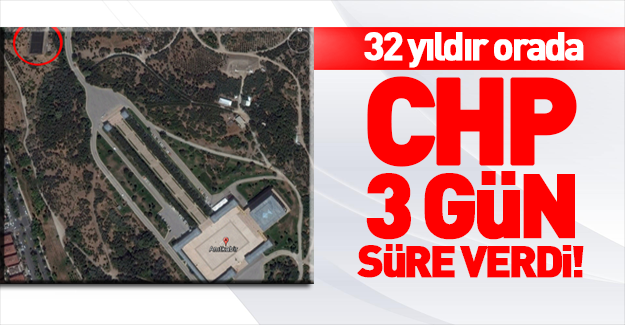 CHP Anıtkabir'deki halı saha için harekete geçti