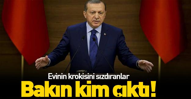 Erdoğan'a suikast krokisini örgüte veren hainler bulundu!