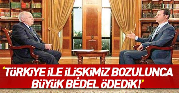 Esed İran dergisine Türkiye hakkında konuştu