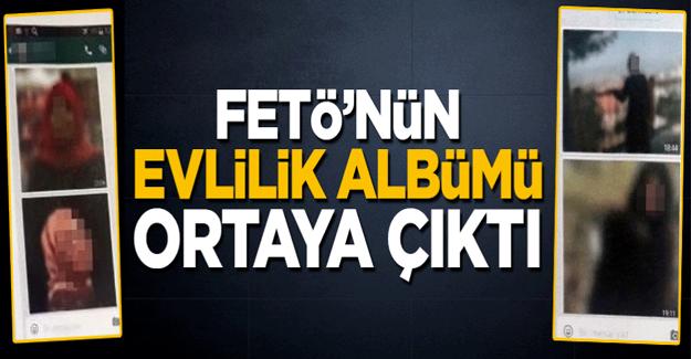 FETÖ'nün 'evlilik albümü' ortaya çıktı