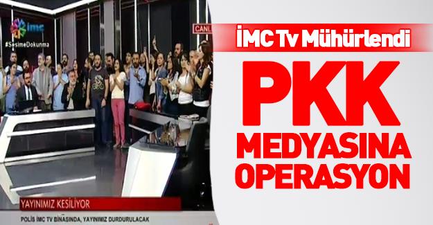 İMC TV canlı yayında kapatıldı!