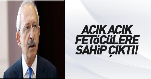 Kılıçdaroğlu cezaevindeki FETÖ'cüleri savundu