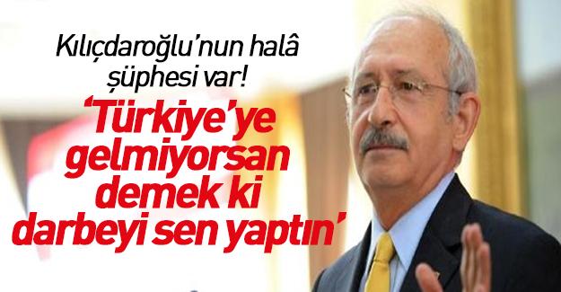 Kılıçdaroğlu'ndan Gülen'e çağrı: Suçsuzsan gelirsin