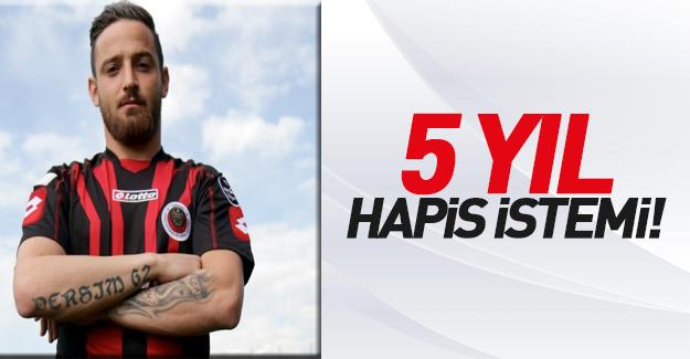 PKK sevici 'futbolcu'ya 5 yıl hapis istemi