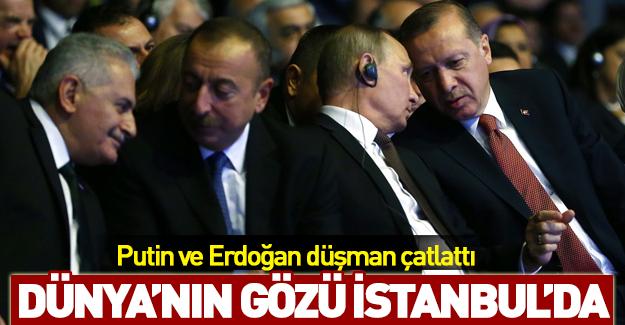 Putin ve Erdoğan düşman çatlattı