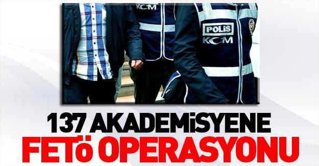 16 ilde akademisyenlere FETÖ operasyonu!