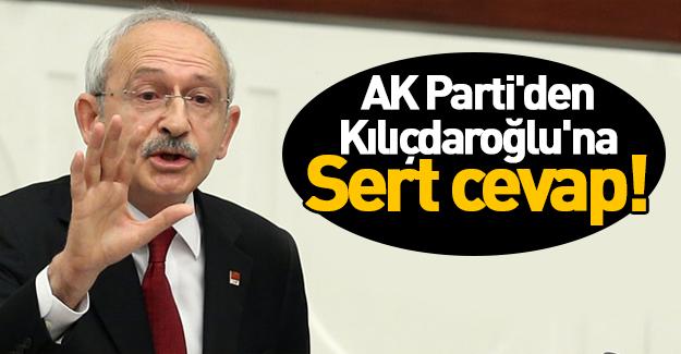 AK Parti'den Kılıçdaroğlu'na sert cevap!