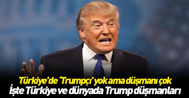 Anti Trump listesindeki ilginç Türkiye ayrıntısı