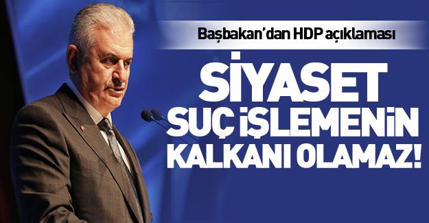 Başbakan'dan HDP operasyonu açıklaması