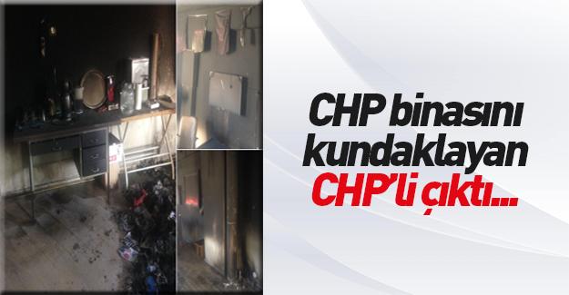 CHP binasını CHP'li kundaklamış!