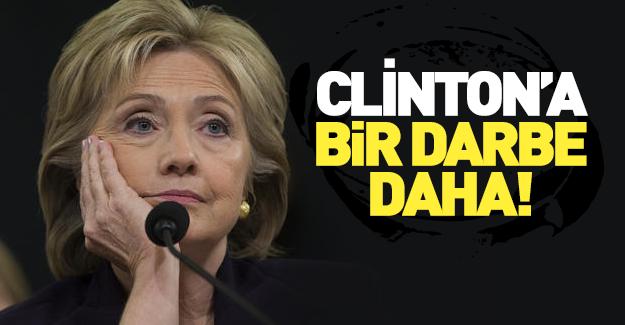 Clinton'a bir darbe daha!