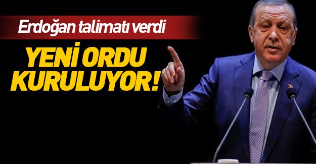 Cumhurbaşkanı Erdoğan talimat verdi!
