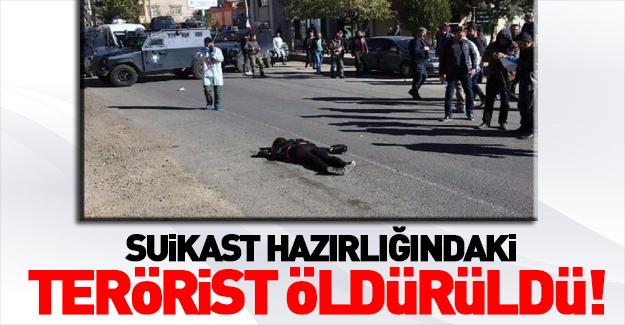 Diyarbakır'da çatışma: 1 terörist öldürüldü