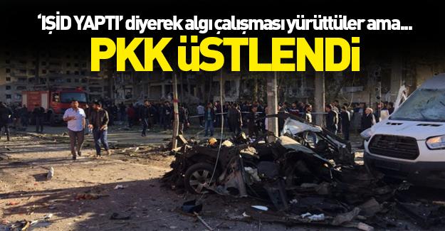 Diyarbakır'daki saldırıyı TAK üstlendi