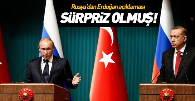 Erdoğan'ın Esed ile ilgili sözleri Rusya'ya sürpriz olmuş!